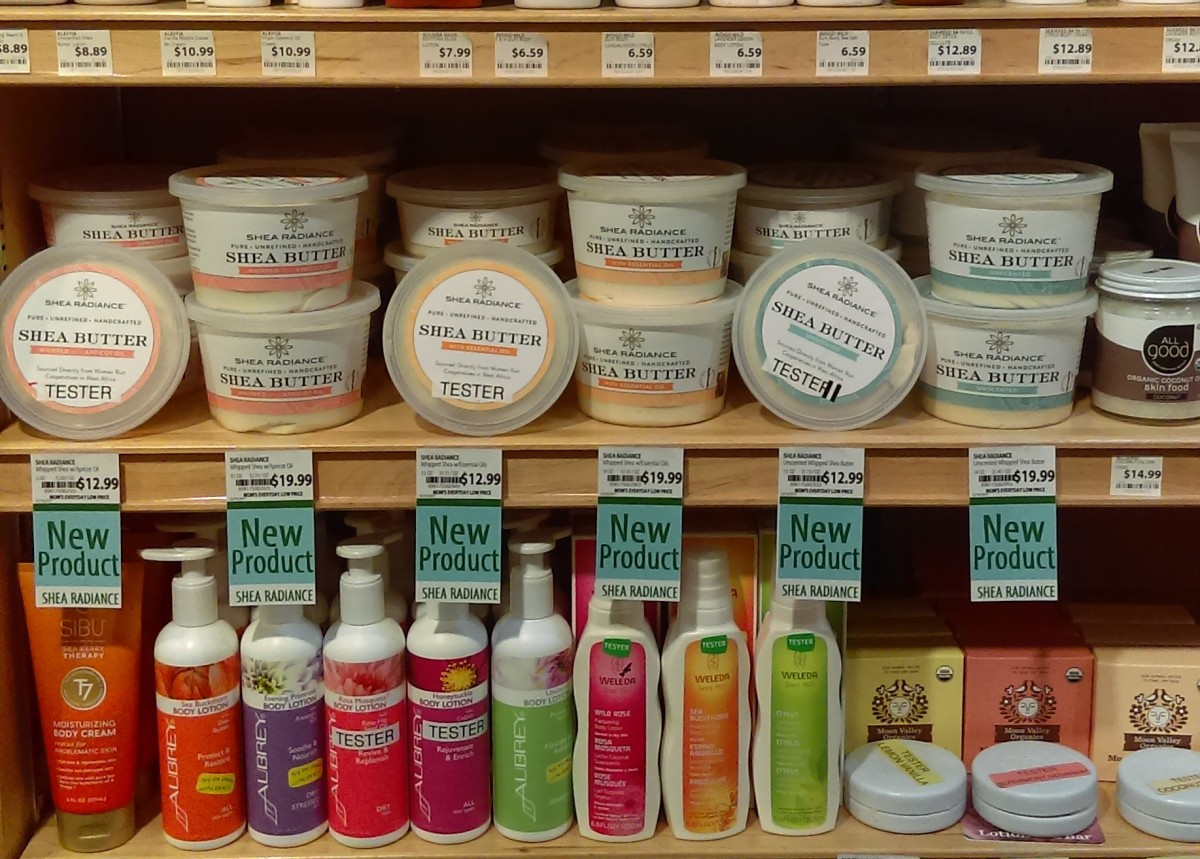 Celebrating New Partnerships -Shea Radiance and MOM's Organic Market